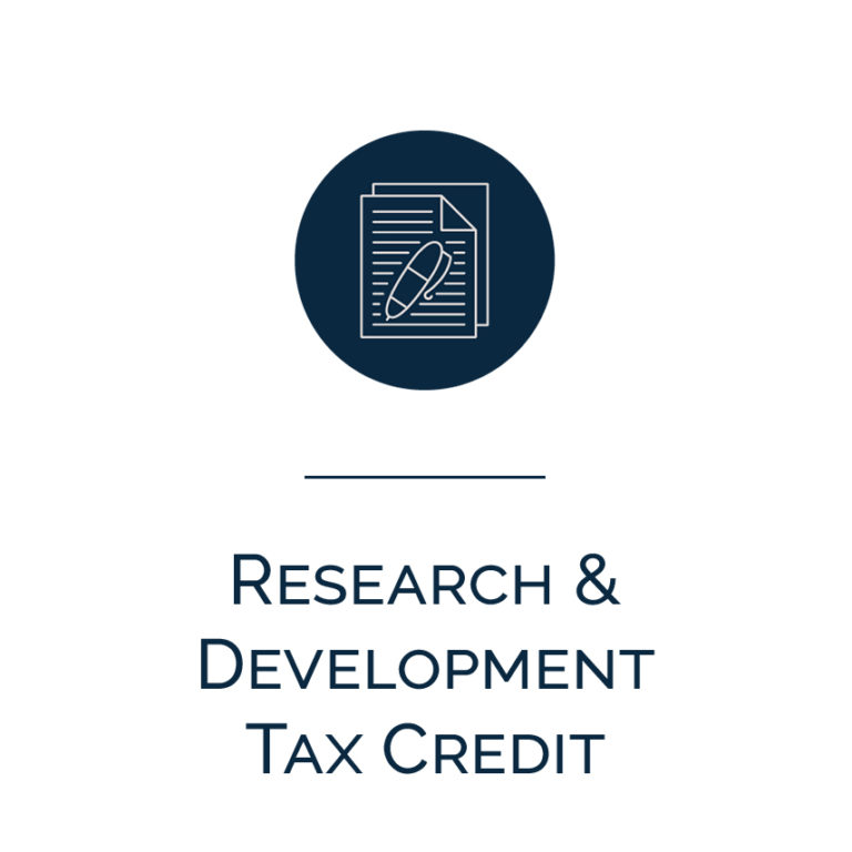 research and development tax credit - 768×768