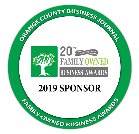 Orange County Business Journal Sponsorship Seal